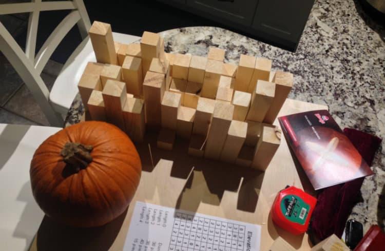 DIY Quadratic Skyline Diffuser