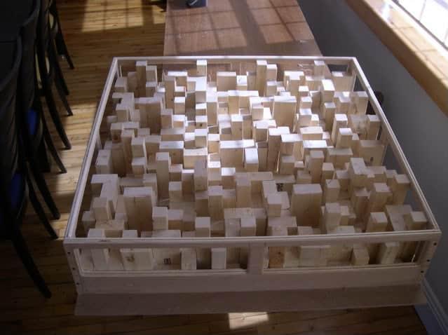 QRD Skyline Diffusor Build