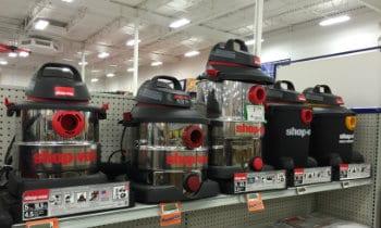 quiet shop vacuums