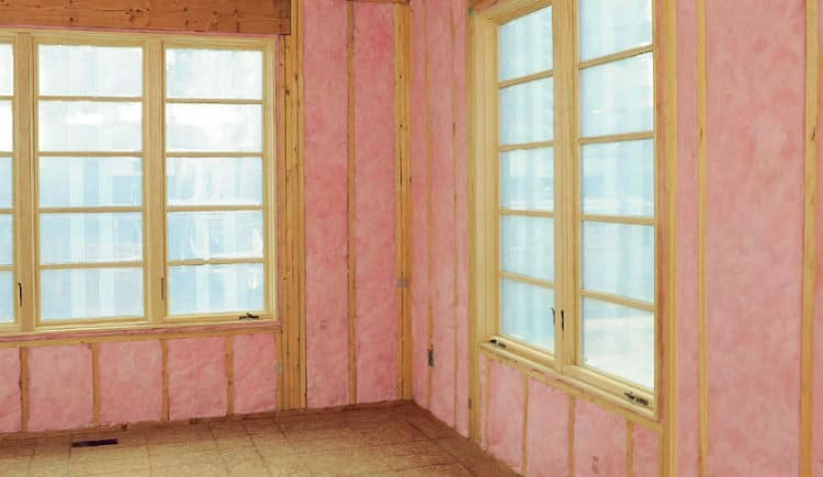 Fiberglass Insulation Soundproofing