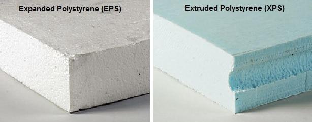 Styrofoam soundproofing