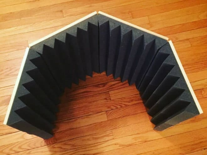 Portable sound booth