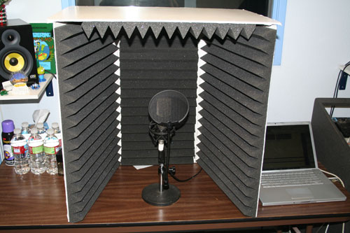 Portable soundproof booth