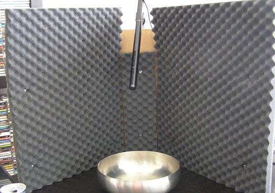 diy recording booth