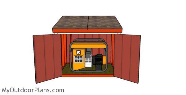 Portable Generator Enclosure Plans
