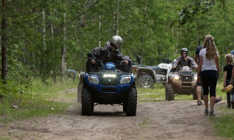 ATV silencer