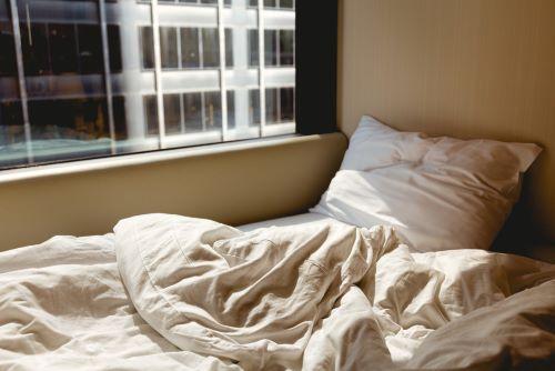 window over bed