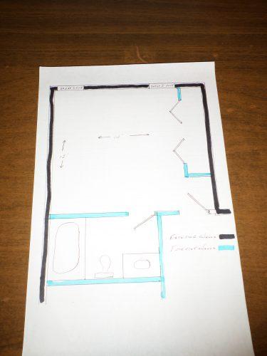 Bedroom working plan for soundproofing