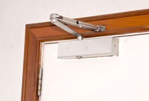 automatic door closer to keep door from slamming