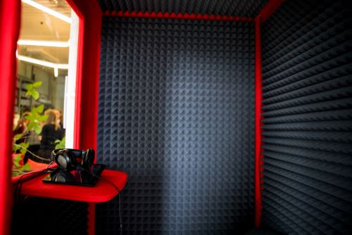 a soundproof room within a room