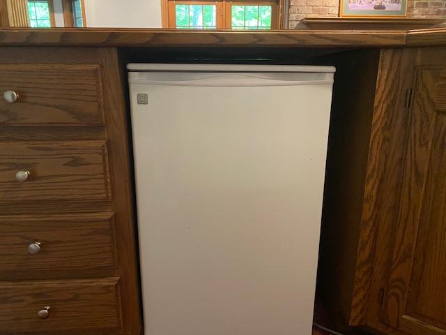 Quiet mini-fridge under the counter