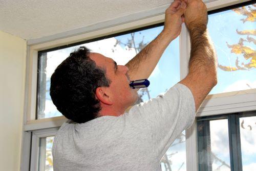 installing soundproof blinds